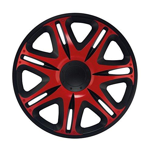 14 Zoll Radzierblenden NASCAR RED (Rot/Schwarz). Radkappen gebraucht kaufen  Wird an jeden Ort in Deutschland