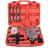 FreeTec, estrattore idraulico per cuscinetti, 10 t, utensile con 2/3 bracci