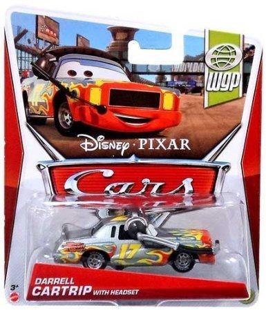 - 1:55 Cast Modelle 2013 zur Auswahl, Cars 2013:Darrell Cartrip - WGP (Halloween Zwei Cast)
