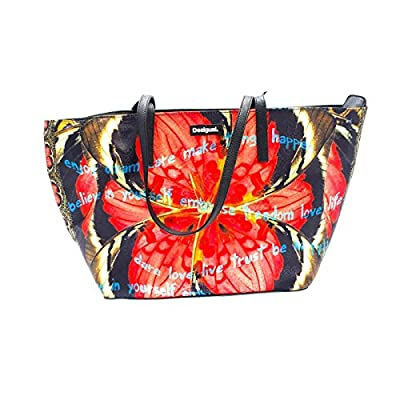 San Francisco Patchy Bag Red Butterfly