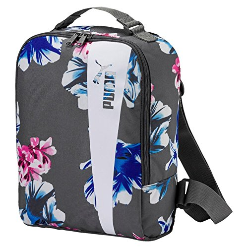 PUMA CORE Style ICON Bag Tasche, Steel Gray White-Flower Graphic, OSFA