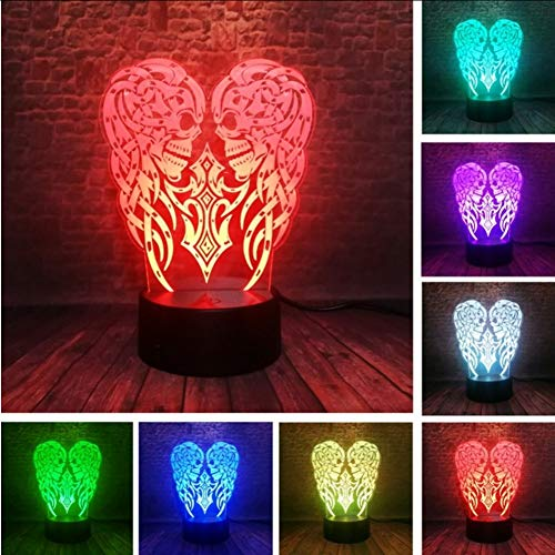 Lkfqjd 3D Festival Party Dekoration Lava Lampe 5 V Halloween Kürbis Schädel Led Stimmung Nachtlicht Blinkende Beleuchtung Kind & Freund Geschenke