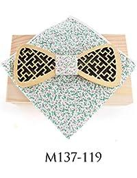 ZHENZHIA Pajarita De Madera Juego de Bolsillo de Mariposa Hecho a Mano con Forma de Mariposa
