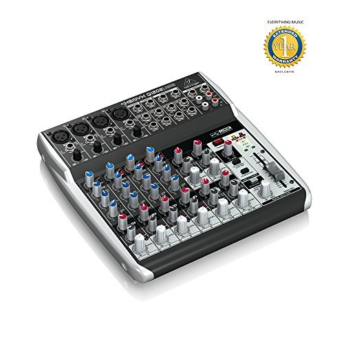 Behringer Xenyx Q1202USB 12-input, 2-bus Analog Mixer  available at amazon for Rs.20049