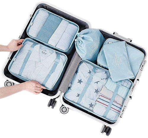 Arxus 6 Set Cubos de embalaje Viaje Organizadores a prueba de agua Bol