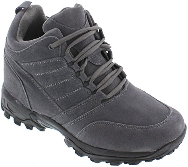 CALTO H00314 Zoll Taller Höhe Zunehmende Aufzug Schuhe Dark Brown ...