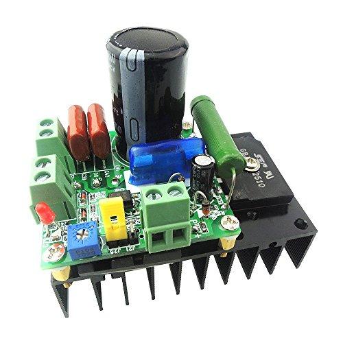 uniquegoods 12V 24V 48V 110VDC 300W DC-Motordrehzahlregler PWM-Variable Speed Regulator MACH3 Speed Control Module -