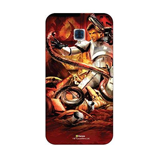 831-013542-HTC620G HTC Desire 620G Hamee Original Star Wars [Han Solo 2] Licensed Designer Cover Slim Fit Plastic Hard Back Case for HTC Desire 620G