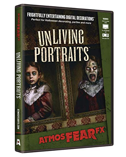 Spooky Unliving Portraits Visual Halloween Effekt DVD als Halloween Dekoartion