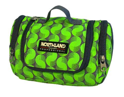 Northland Professional Kulturbeutel Biz, grey/green balls, 02-01702 (Grün Waschen Ball)