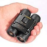 DFlamepower mini 30x60 Compact Folding Binoculars Telescope waterproof for adults/kids/Bird watching/travelling/Concerts/hunting, etc