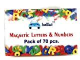 #2: FunBlast™ Magnetic Learning Letters Alphabets and Numbers, Pack of Premium Quality ABC, abc and 123 Educational Magnets with Mathematical Symbol for Kids (PACK OF 70 Pcs (ABC,abc & 123))