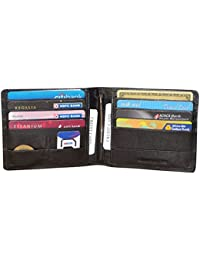 Style98 Leather ATM Credit Card Holder Cum Money Clip Wallet for Boys,Girls,Men & Women