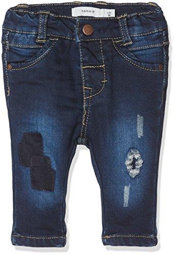 NAME IT Baby-Mädchen Jeans NITBAWAIT Slim DNM Pant BRU F NB, Blau (Dark Blue Denim), 68