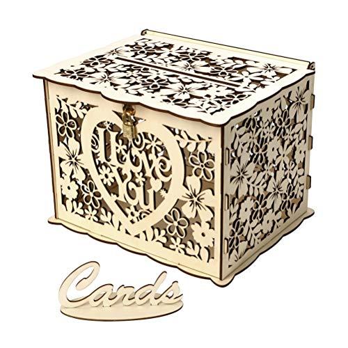 PRETYZOOM DIY Caja Tarjetas Regalo Agradecimientopara