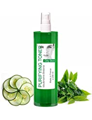 Lotion Tonique Purifiante Peau Grasse et Acné au Thé Vert Spray 200 ml - sans alcool