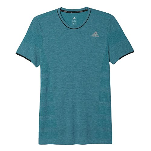adidas Herren T-shirt AS Primeknit M Grün, S