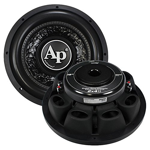 4 Ohm 800w Subwoofer (Audiopipe Shallow 12