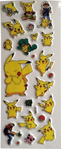 Preisvergleich Produktbild Kleine Aufkleber Pokemon Pikachu