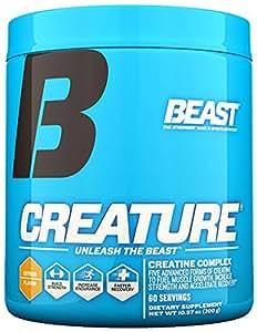 Beast Sports Nutrition Creature, Citrus, 60 Servings