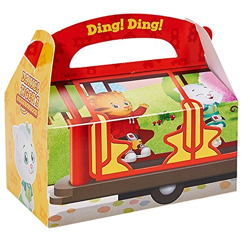 Daniel tiger party supplies - empty favor boxes (4) by birthdayexpress