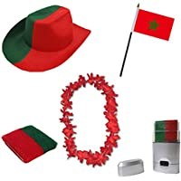 NiceButy 1/Pcs 90/* 150/cm Flagge Nationaler Dekorationen Internationalen Flaggen-Spiel von L/ändern f/ür Vereine Sportler Feier der Vorgang-B/är Flag Nationaler # Marokko #