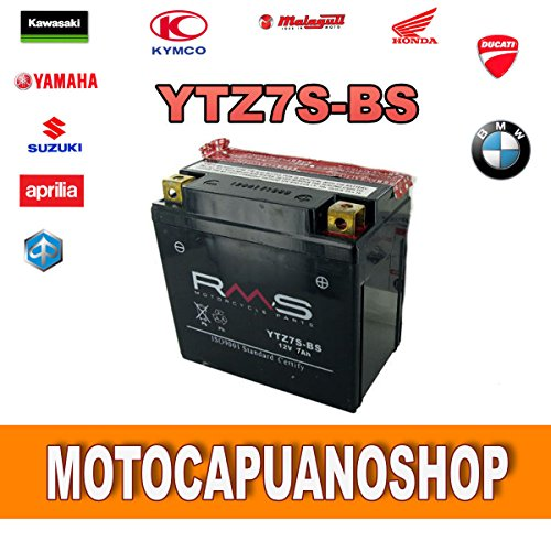 BATTERIA RMS YTZ7S-BS YAMAHA WR F 450 ANNO 2003 2004 2005 2006 2007