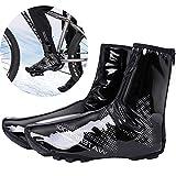 SEGRJ 1 Paire de Housses de Chaussures étanches et épaisses Coupe-Vent XL Noir