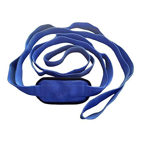 Lzndeal Exercise Stretching Bracelet de Yoga avec Boucles de Serrage Multiples pour Sports Fitness Accessoires de Femmes