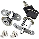 YUE Kabinet Sloten, Veiligheid Lade Lock, Cam Lock, met 2 sleutels voor brievenbus lade kast meubilair deur