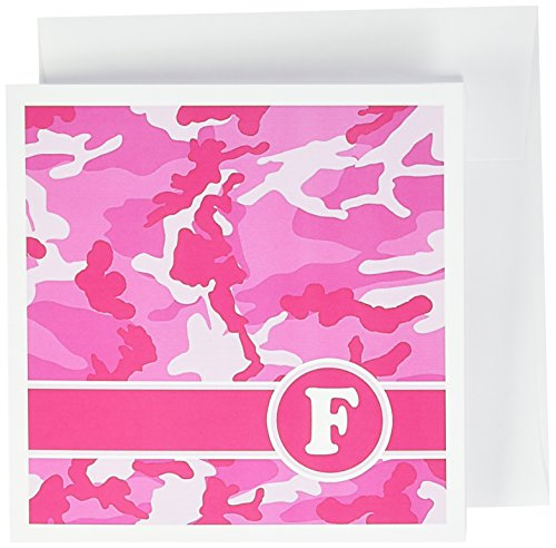 flage Buchstabe F-Grußkarten, 15,2x 15,2cm, Set 12(GC 165828_ 2) ()