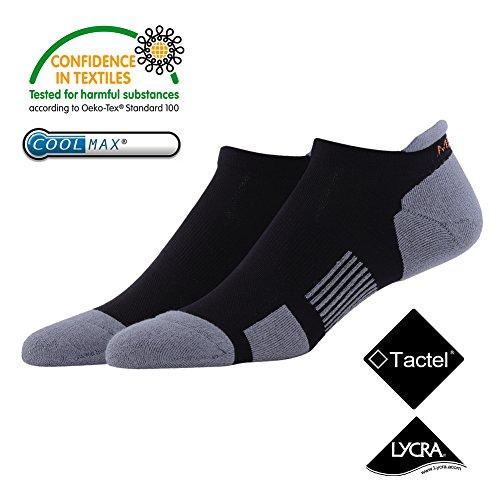 running-socksmeikan-professional-sports-athletic-short-socks-2-pairs-fast-dry-moisture-wicking-breat