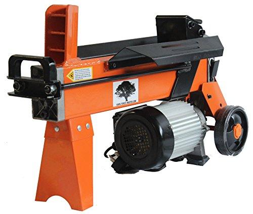 Rapide légère 5 tonnes 2200 Watt électrique hydraulique fendeuse 300mm / 12 pouces Longueur de bûches