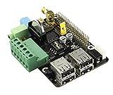 WINGONEER WX205 Panneau d'expansion multifonction pour framboise Pi Model B + 2 Raspberry Pi 3 modèle B