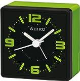 Seiko Unisex Wecker Analog Kunststoff schwarz QHE091M