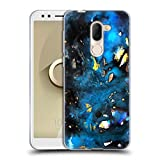 Official Mai Autumn Turquoise Galaxy Abstract Soft Gel Case