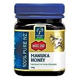 Manuka Health  - Manuka Honig MGO 250 + 250g - 100% Purer aus Neuseeland mit zertifiziert aktiver Methylglyoxal