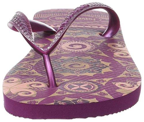Havaianas Spring, Sandales Plateforme femme Violet (Acai)