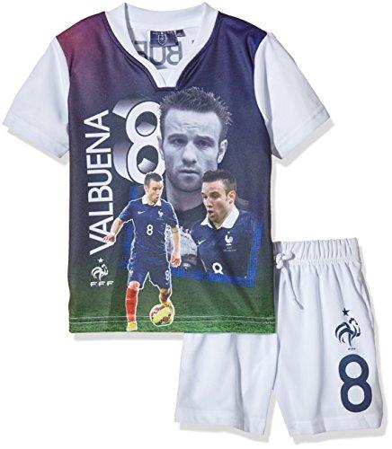 FFF EP1002 Valbuena conjunto de piezas de 2-Camiseta de manga corta para niño, color blanco, talla 10 años (10Y) fabricante:
