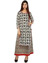 Om Trading Printed Cotton Kurti For Women