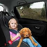 Mture Auto-Sonnenschutz, Kinder Auto-Sonnenschutz für Seitenfenster, Schutz vor schädlichen UV-Strahlen, Baby Autosonnenschutz passt universell (2 Stück)