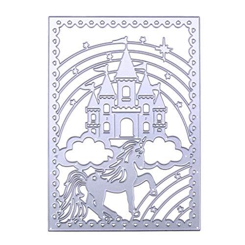 Guangtian Karbonstahl Schneiden Stirbt Burg Metall Schablone Für Scrapbooking Prägung Papierkarte Home Decor