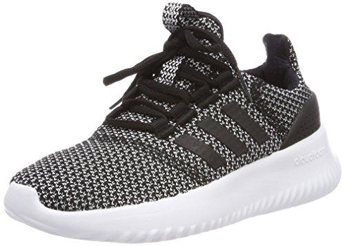 adidas Unisex-Kinder Cloudfoam Ultimate Sneaker, Schwarz (Core Black/Core Black/Silver Metallic 0), 37 1/3 - Jungen Adidas Kinder Schuhe