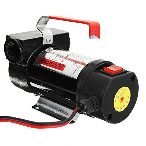 Kit pompa elettrica di trasferimento diesel 12 V kit estrattore liquido diesel auto pompa trasferimento olio kit
