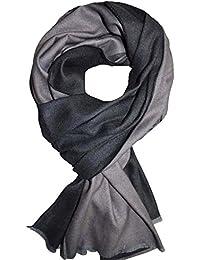 Femme - écharpe - Bicolore - Mixte - pashmina - foulard - cache-col - 24cffbe7cb9