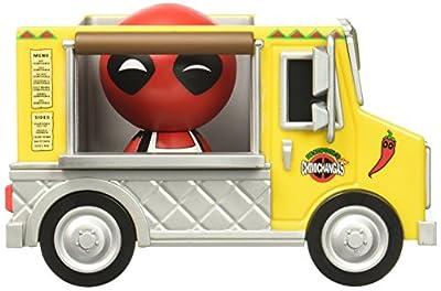Funko - 11304 - Figurine - Dorbz Ridez - Marvel - Deadpool & Chimichanga Truck