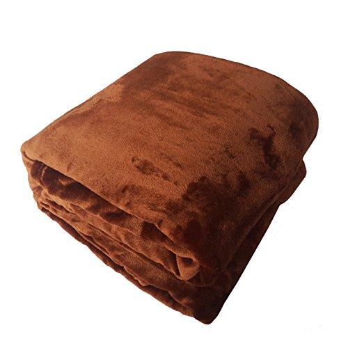 Cálida manta de franela suave mullido sofa cama invierno tiro por via