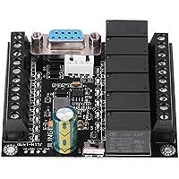Placa de Controlador Lógico Programable PLC Tablero de Control de Programa Industrial FX1N-14MR Módulo de Controlador de Relé