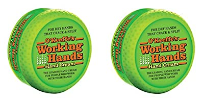O'Keeffe's Working Hands Cream Jar, 95 g, Pack of 2