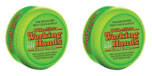 Crema para manos Working Hands, lata de 95g, paquete de 2 unidades, de O'Keeffe